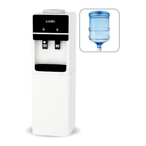 Cây nước nóng lạnh úp bình Karofi HC01-W