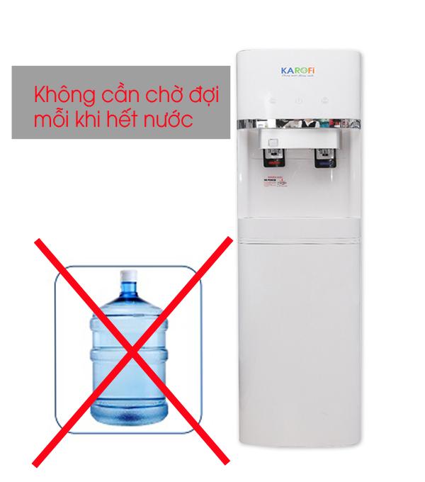 Cây nước nóng lạnh tích hợp lọc Karofi HC300-RO