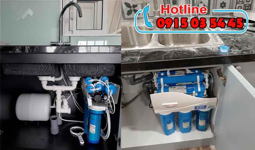 máy lọc nước karofi iro 1.1 không tủ bình thạnh