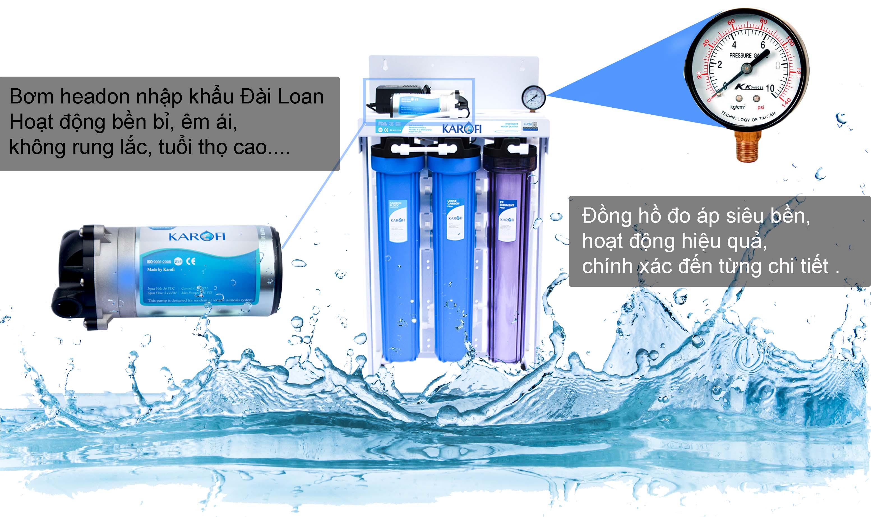 Máy lọc nước bán công nghiệp 30l/h Karofi KB30