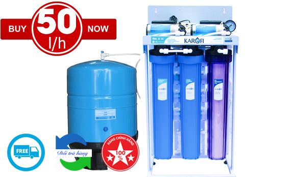 Máy lọc nước bán công nghiệp 50l/h Karofi KB50