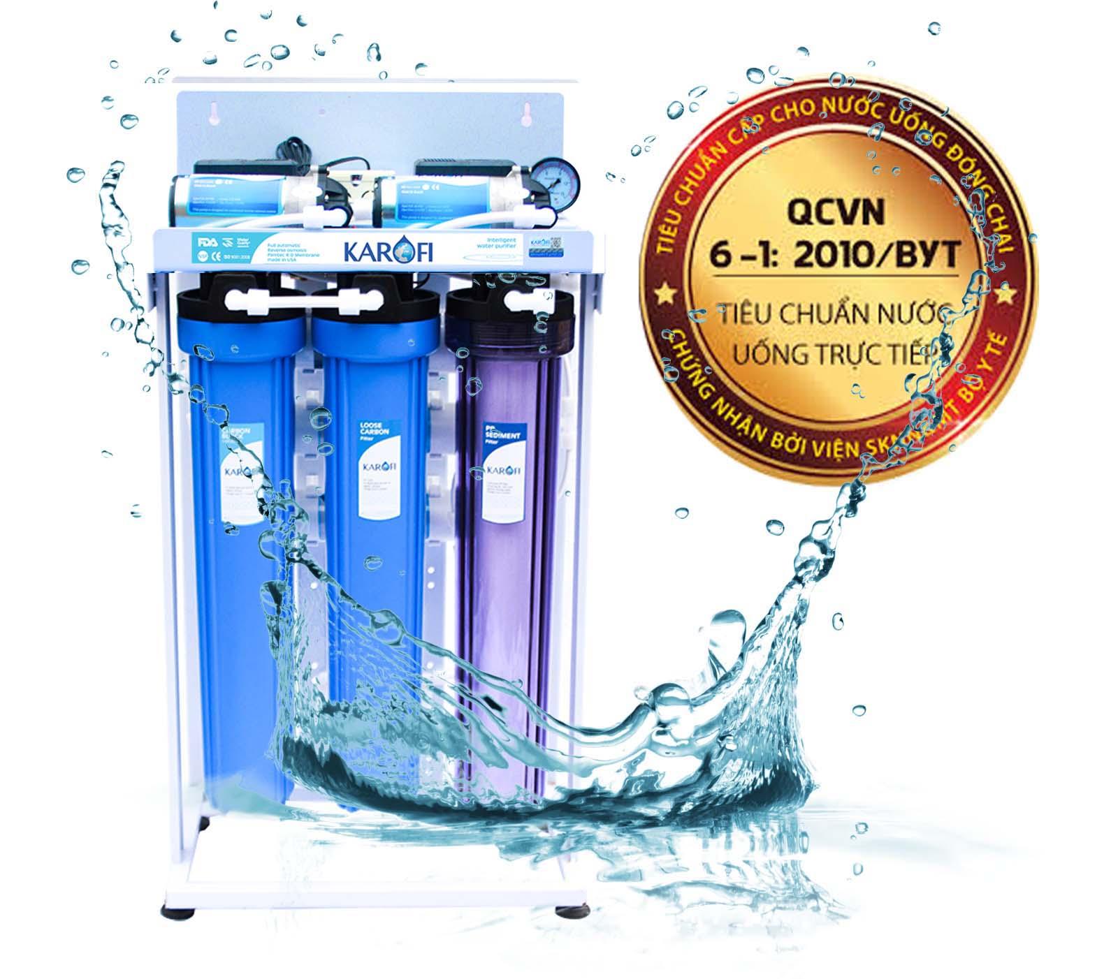 Máy lọc nước bán công nghiệp 80l/h Karofi KB80