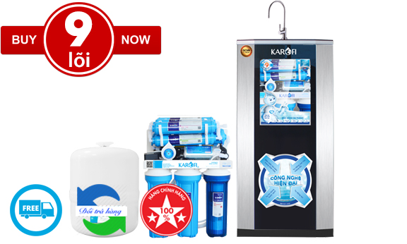 Karofi sRO KSI90-A tiêu chuẩn (9 lõi alkaline)