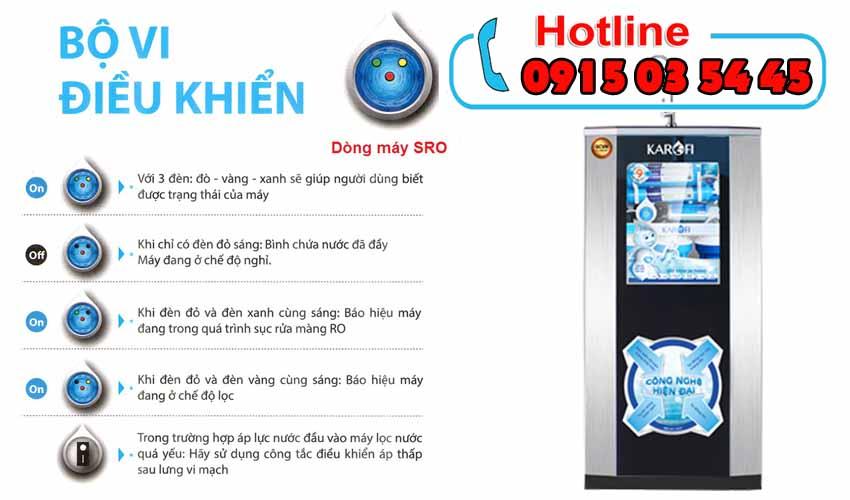 máy lọc nước karofi sro khuyến mãi