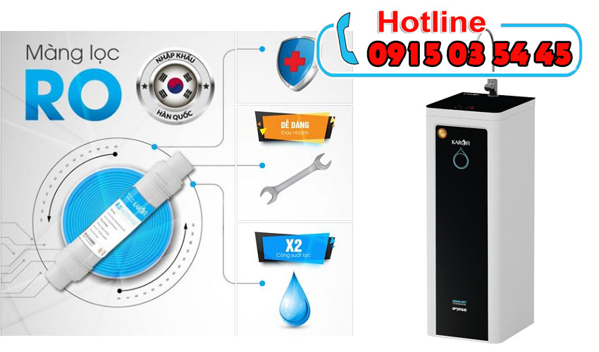 karofi optimus i229u+A tiết kiệm nước thải