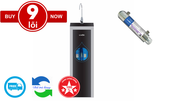 Karofi tiêu chuẩn 2019 N-e119U (9 lõi đèn UV)