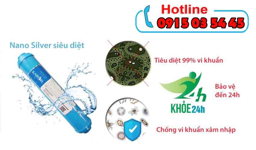 máy lọc nước karofi iro 1.1 giảm giá