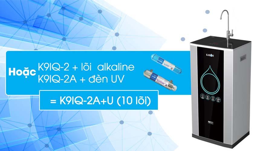 máy lọc nước karofi iro 2.0 thông minh 10 lõi