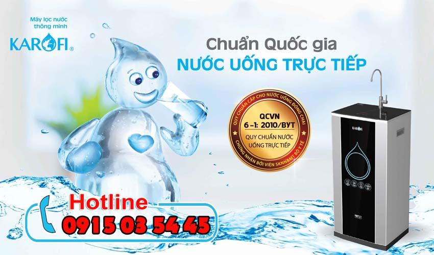 máy lọc nước karofi iro 2.0 ở bình thạnh