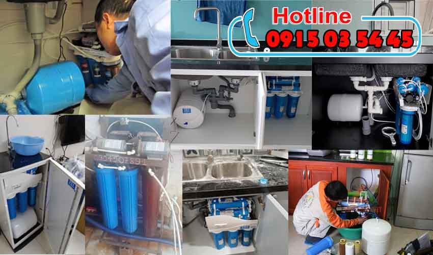 sửa chữa lắp đặt thay lõi lọc nước tai bình chánh uy tín