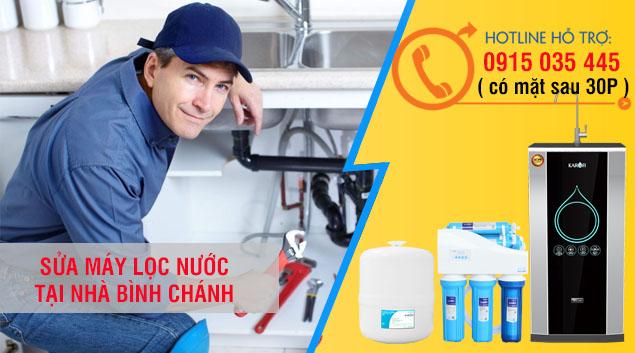 dịch vụ sửa chữa lắp đăt bảo tri máy lọc nước bình chánh giá rẻ