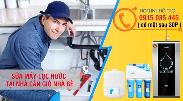 dịch vụ sửa chữa lắp đăt bảo tri máy lọc nước nhà bè cần giờ giá rẻ