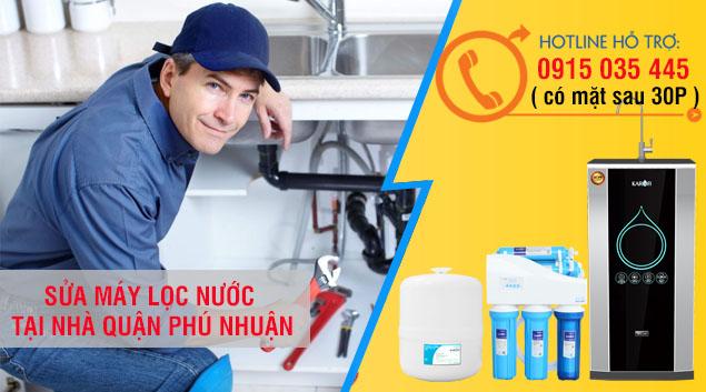dịch vụ sửa chữa lắp đăt bảo tri máy lọc nước phú nhuận giá rẻ