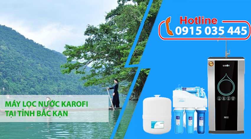 máy lọc nước karofi tại bắc kạn