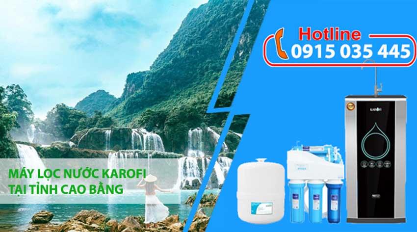 máy lọc nước karofi tại cao bằng