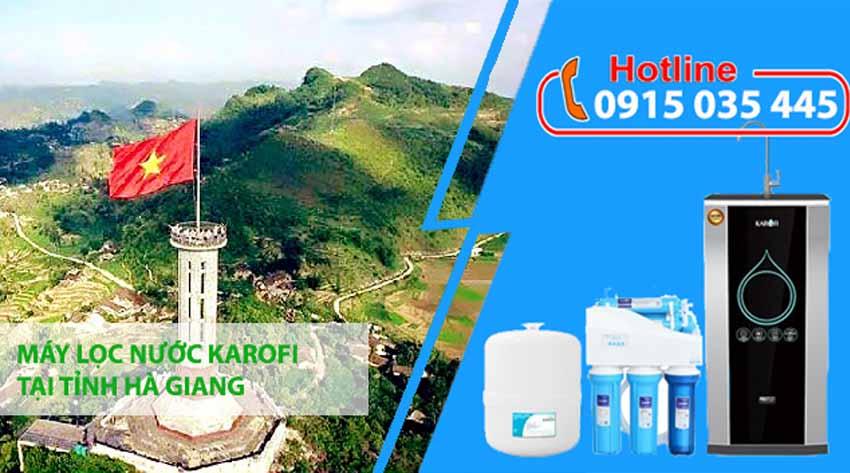 máy lọc nước karofi tại hà giang