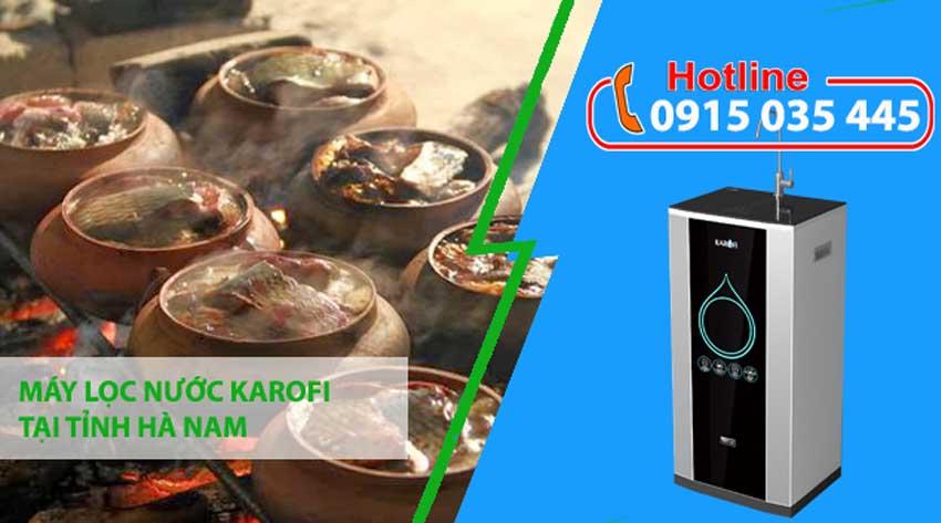 máy lọc nước karofi tại hà nam