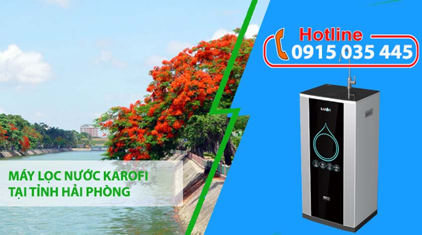 máy lọc nước karofi tại hải phòng