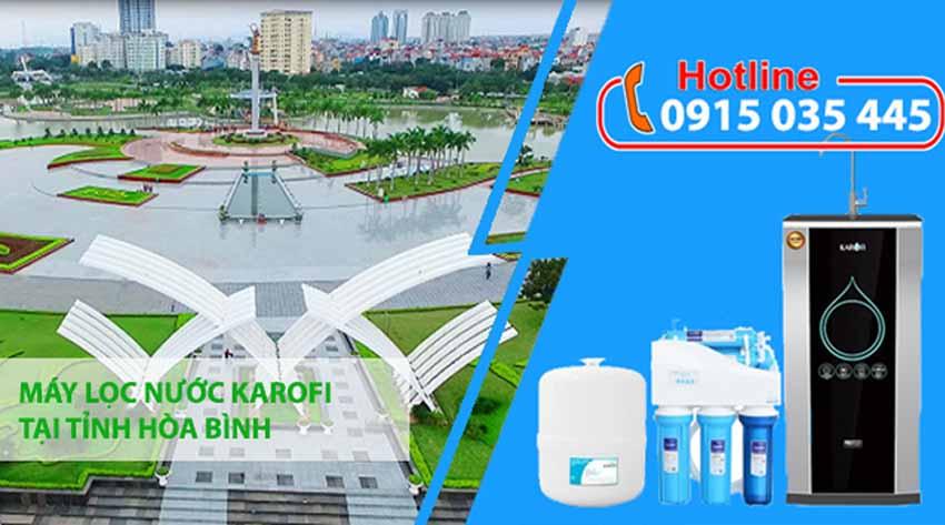 máy lọc nước karofi tại hòa bình
