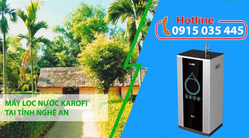 máy lọc nước karofi tại nghệ an