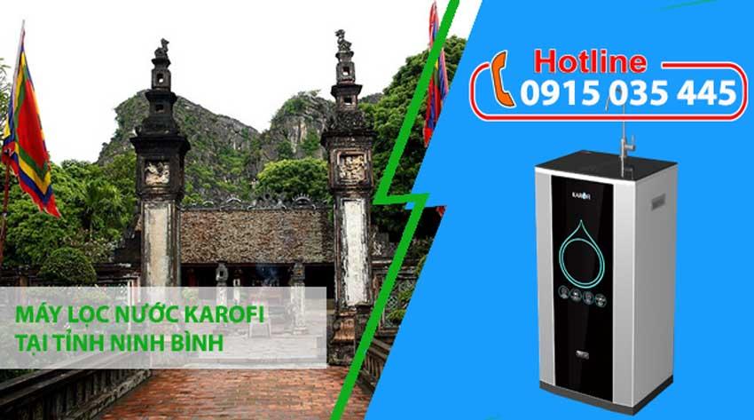 máy lọc nước karofi tại ninh bình