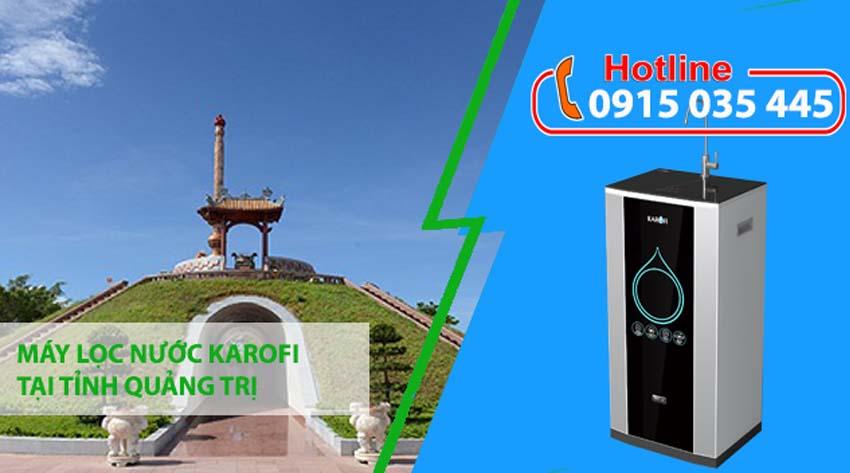 máy lọc nước karofi tại quảng trị