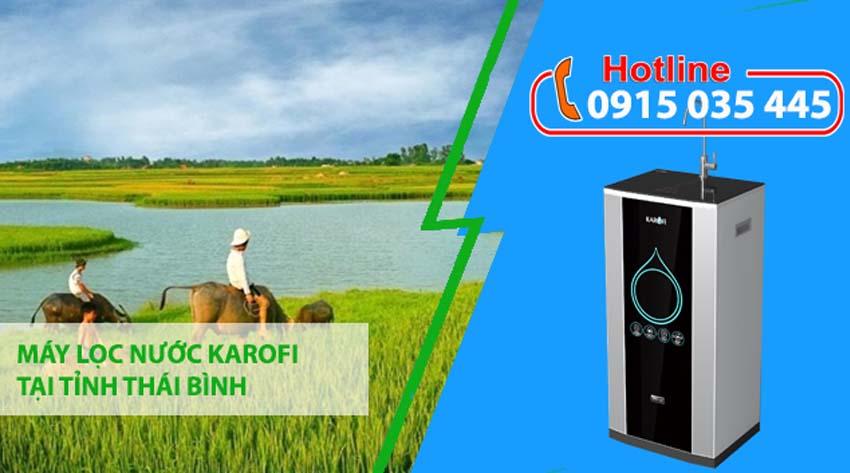 máy lọc nước karofi tại thái bình