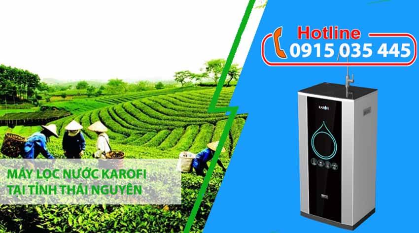 máy lọc nước karofi tại thái nguyên