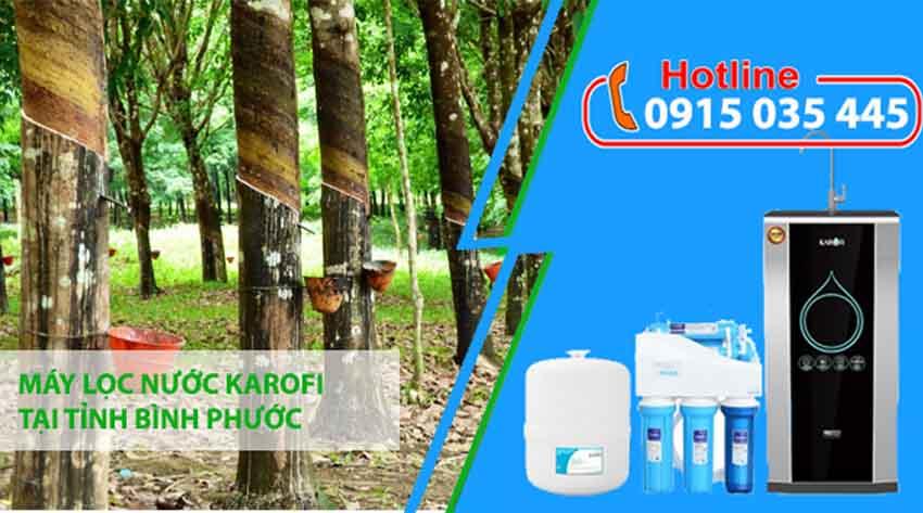 máy lọc nước karofi tại bình phước