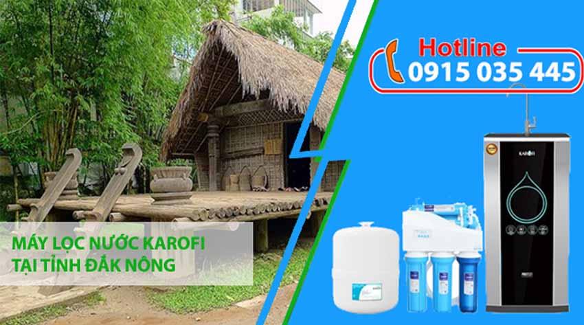 máy lọc nước karofi tại đắk nông