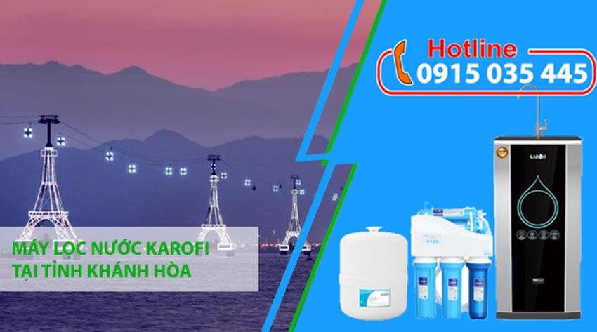 máy lọc nước karofi tại khánh hòa