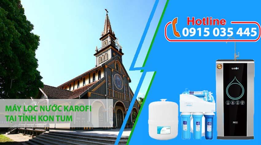 máy lọc nước karofi tại kon tum