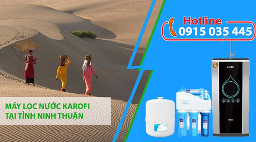 máy lọc nước karofi tại ninh thuận