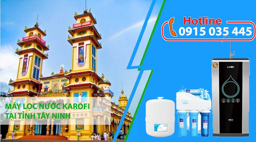 máy lọc nước karofi tại tây ninh