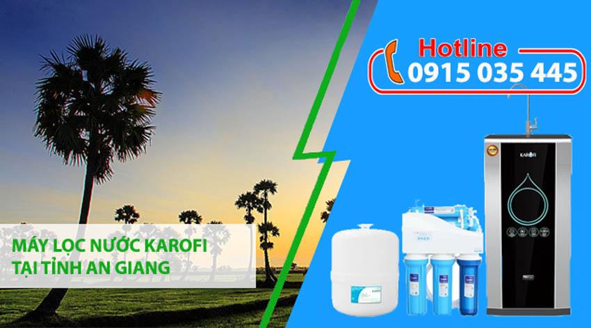 đại lý máy lọc nước karofi tại tỉnh an giang