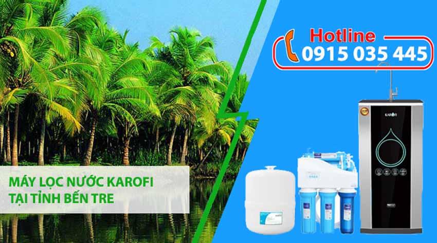 đại lý máy lọc nước karofi tại tỉnh bến tre