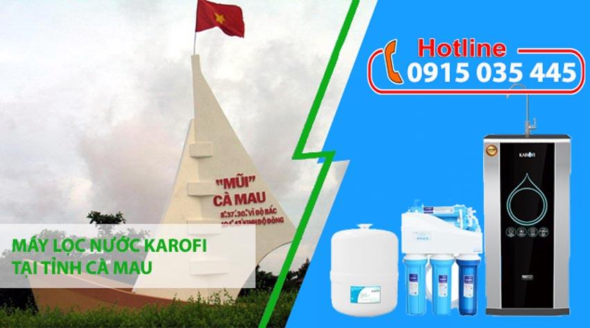 đại lý máy lọc nước karofi tại tỉnh cà mau