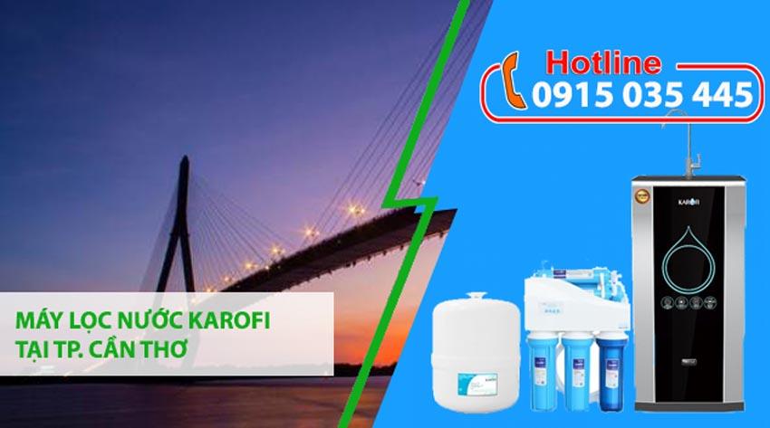 đại lý máy lọc nước karofi tại thành phố cần thơ
