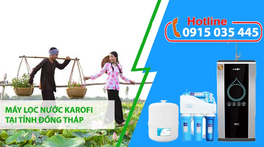 đại lý máy lọc nước karofi tại tỉnh đồng tháp