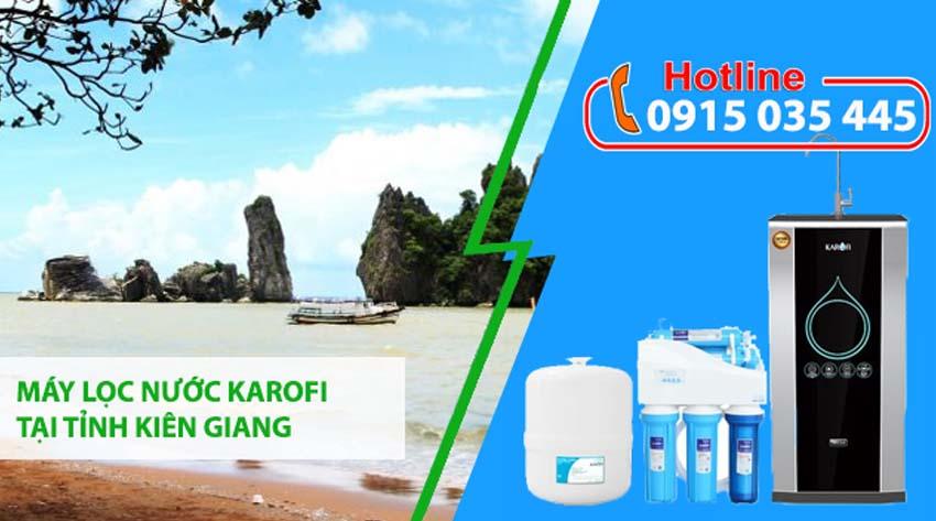 đại lý máy lọc nước karofi tại tỉnh kiên giang