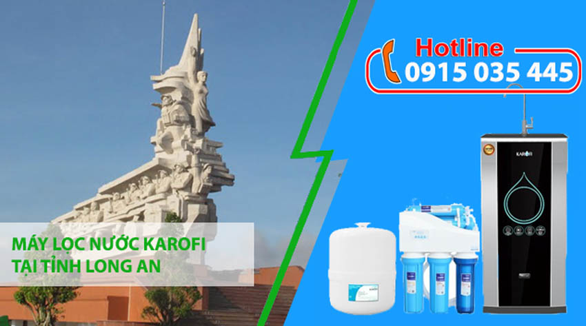 đại lý máy lọc nước karofi tại tỉnh long an