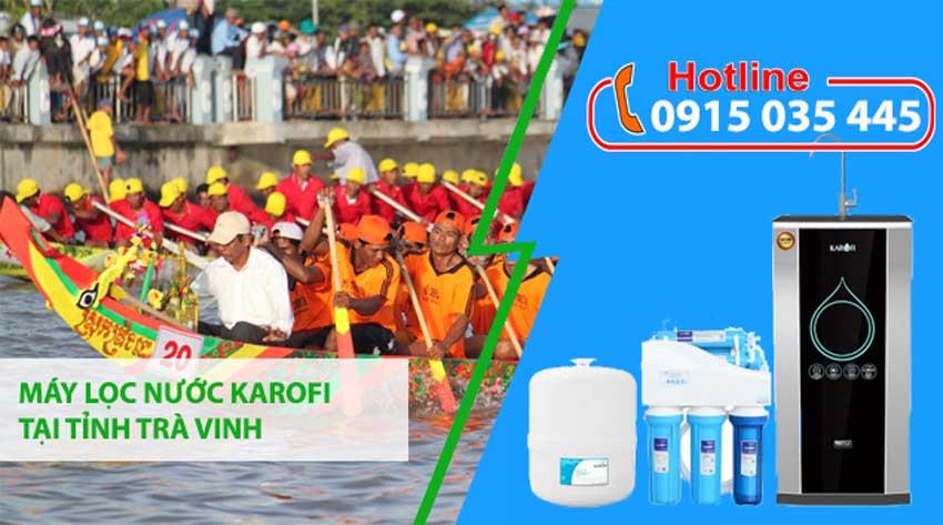 đại lý máy lọc nước karofi tại tỉnh trà vinh