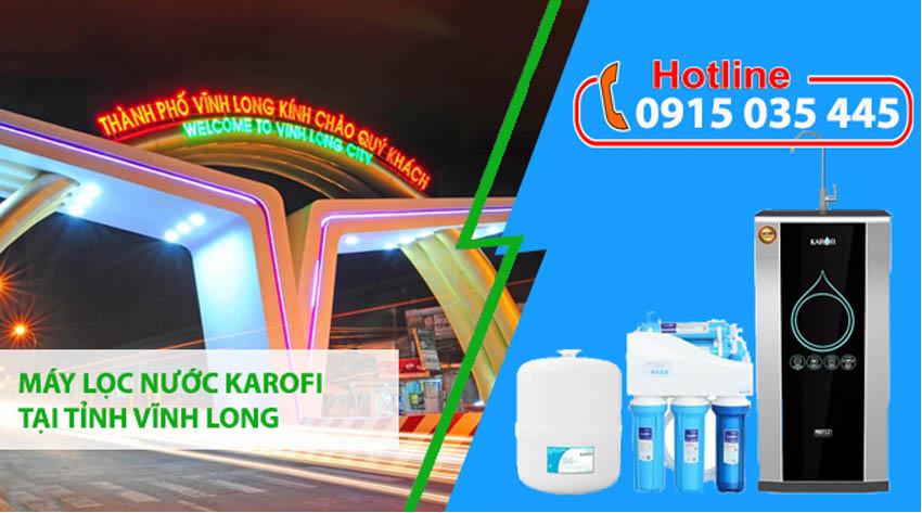 đại lý máy lọc nước karofi tại tỉnh vĩnh long