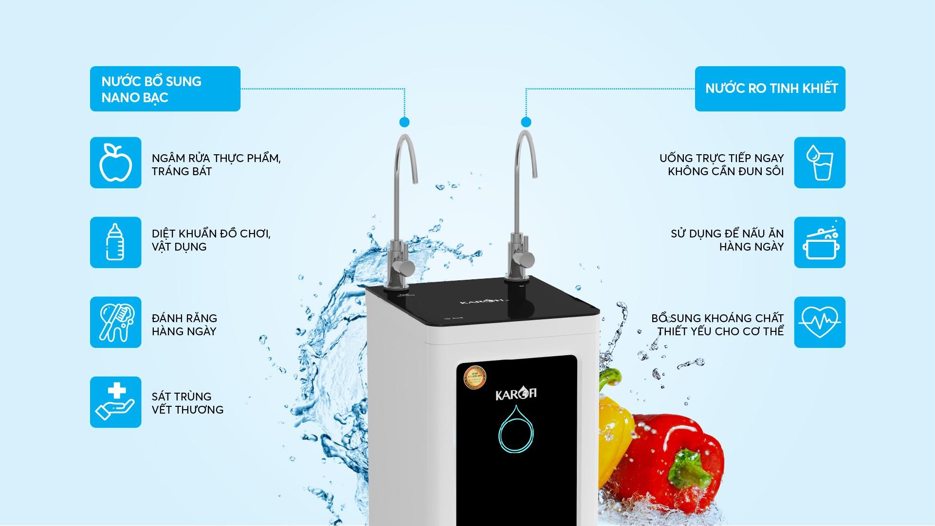 máy lọc nước karofi o-s139-ns giá rẻ