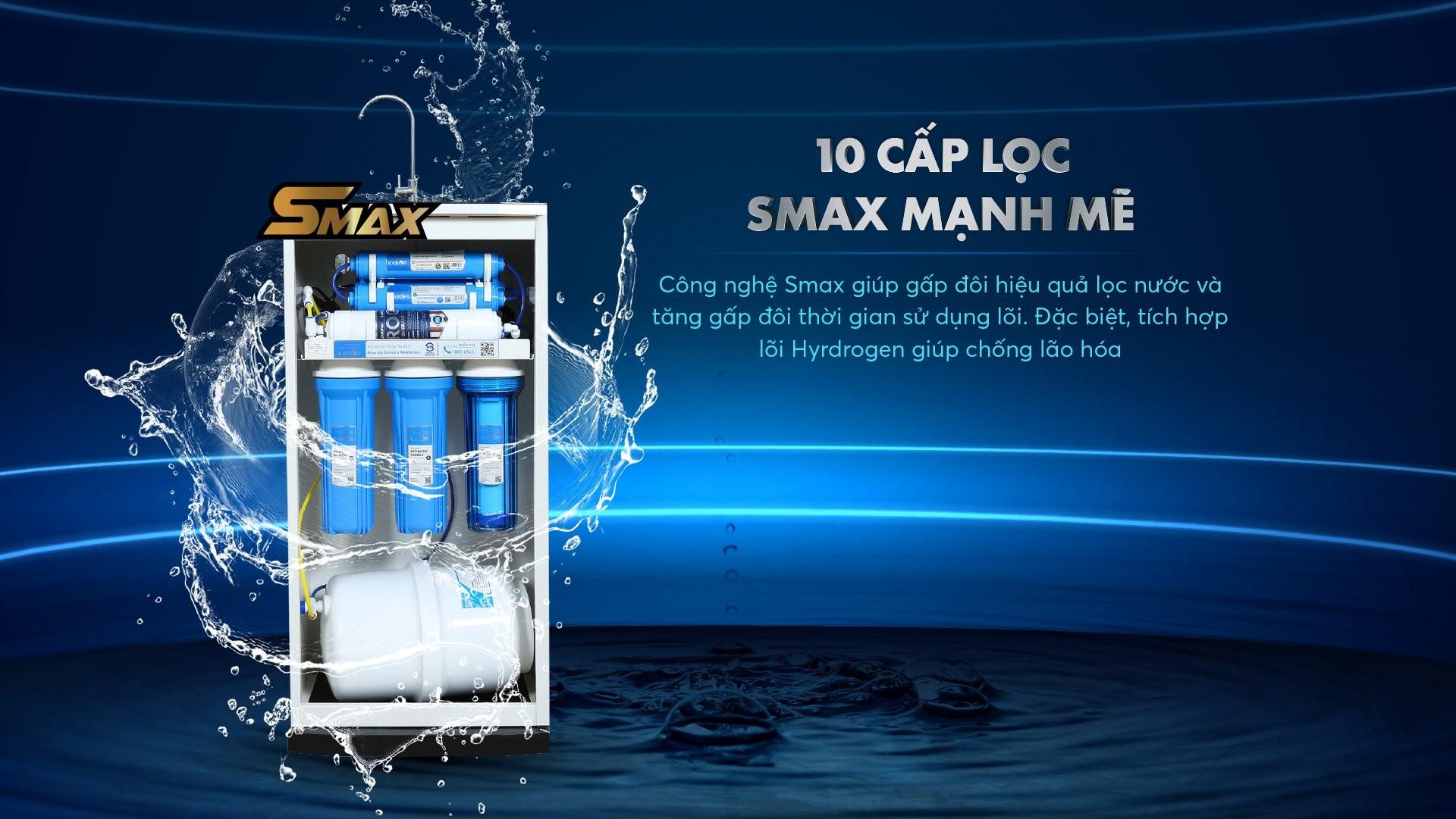 Máy lọc nước Karofi ERO100 chính hãng