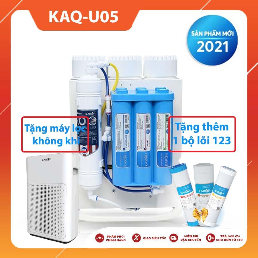 MÁY LỌC NƯỚC KAROFI KAQ-U05 NEW 2021 (10 lõi lọc)