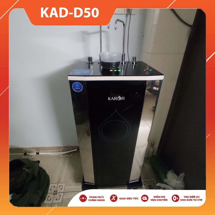 MÁY LỌC NƯỚC NÓNG LẠNH NGUỘI KAROFI AIOTEC KAD-D50 NEW 2021 (10 lõi lọc)