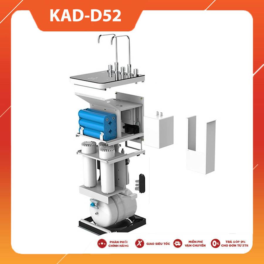 MÁY LỌC NƯỚC NÓNG LẠNH NGUỘI KAROFI AIOTEC KAD-D52 NEW 2021 (10 lõi lọc)
