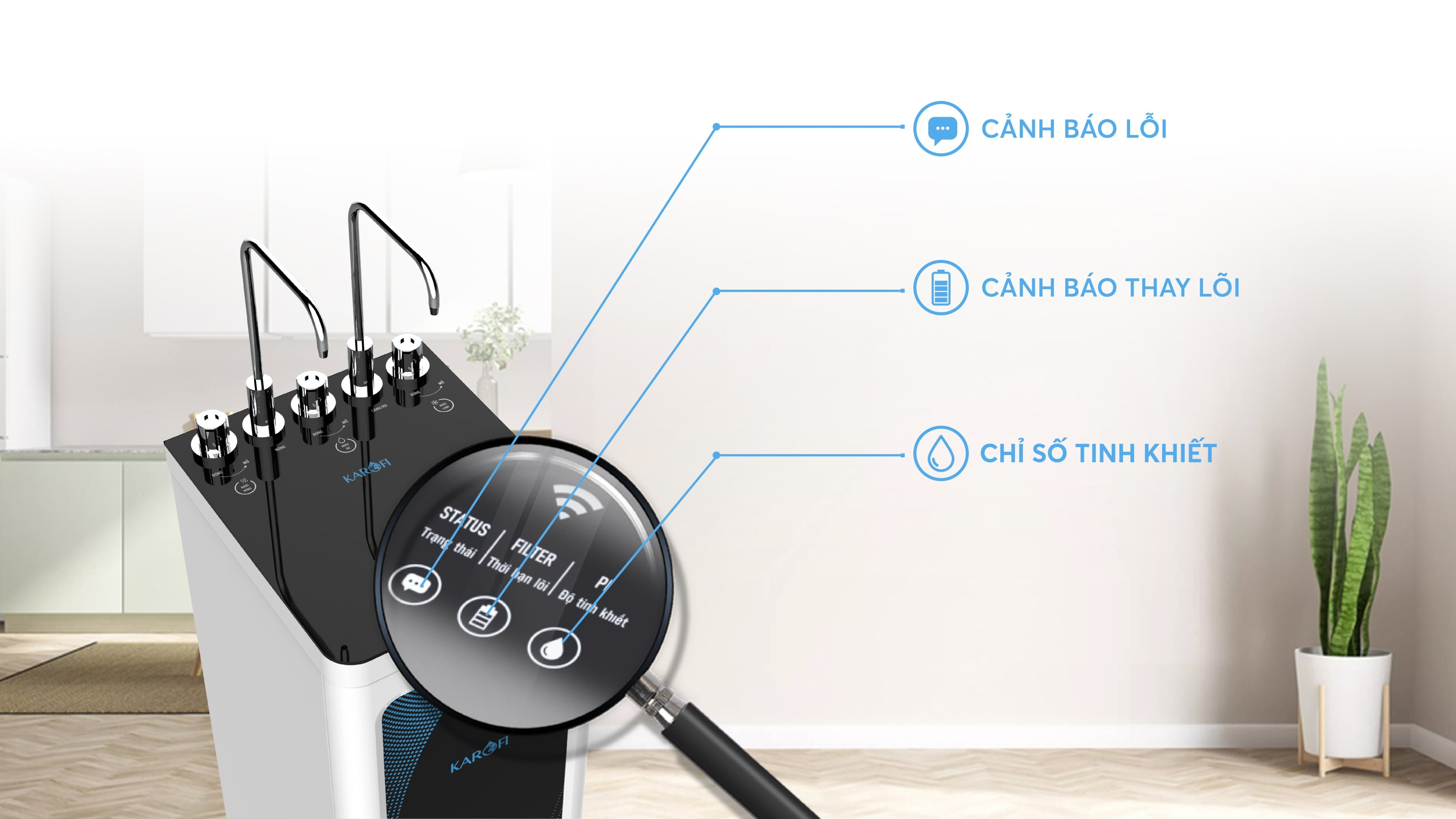 máy lọc nước karofi kad-d52 giá rẻ